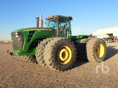2011 JOHN DEERE 9630 4WD 4WD Tractor