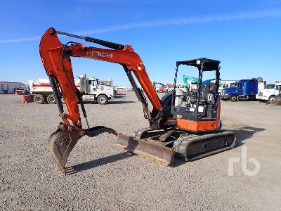 2013 HITACHI ZX50U-5N Mini Excavator (1 - 4.9 Tons)