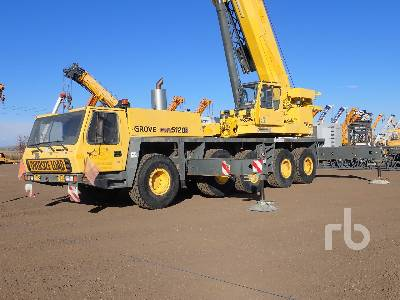 2001 GROVE GMK5120B 120 Ton All Terrain Crane