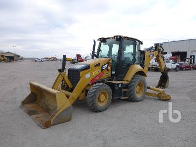 2017 CATERPILLAR 420F2 4x4 Loader Backhoe
