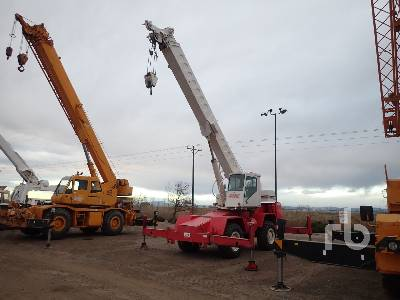 1980 LINK-BELT HSP-8018 18 Ton 4x4x4 Rough Terrain Crane