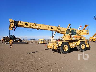 1984 GROVE RT528B 28 Ton 4x4x4 Rough Terrain Crane