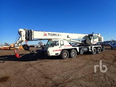 1997 TEREX T750 75 Ton 8x4x4 Hydraulic Truck Crane