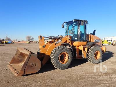 2018 CASE 721F Wheel Loader