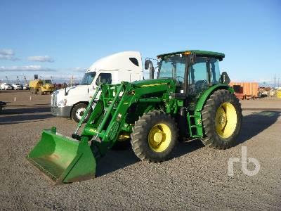2014 JOHN DEERE 6115D MFWD Tractor