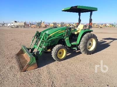 JOHN DEERE 4320 4WD Utility Tractor