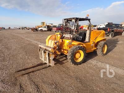 2000 JCB 520 4000 Lb 4x4x4 Telescopic Forklift