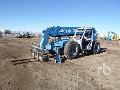 2007 GENIE GTH1056 10000 Lb 4x4x4 Telescopic Forklift