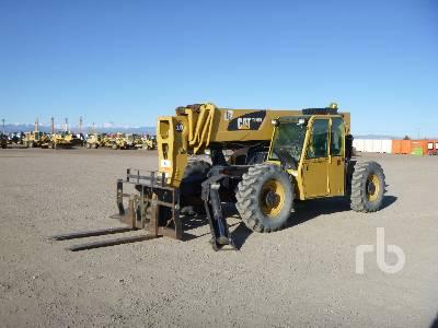 2009 CATERPILLAR TL1055 10000 Lb 4x4x4 Telescopic Forklift