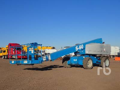 2011 GENIE S-60X 4x4 Boom Lift