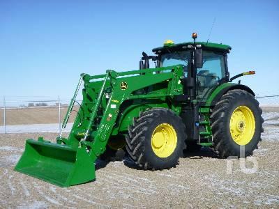 2018 JOHN DEERE 7250R MFWD Tractor