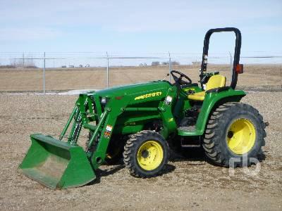 2012 JOHN DEERE 3038E 4WD Utility Tractor