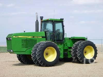 1990 JOHN DEERE 8760 4WD Tractor