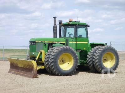 1986 JOHN DEERE 8650 4WD Tractor