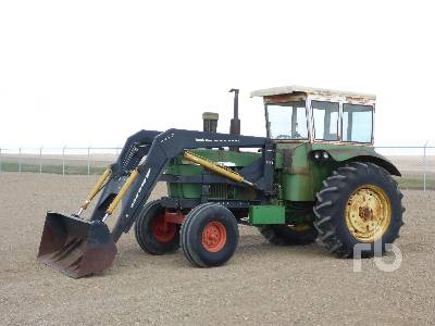 1966 JOHN DEERE 4020 2WD Antique Tractor
