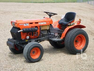 1993 KUBOTA B7100HST 4WD Utility Tractor