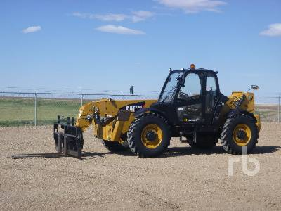 2011 CATERPILLAR TH514 11000 Lb 4x4x4 Telescopic Forklift