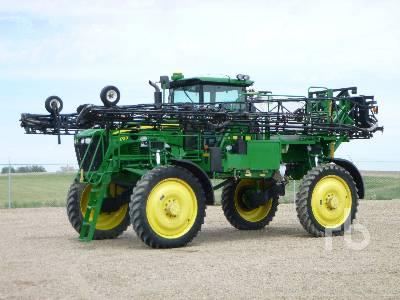 2012 JOHN DEERE 4730 100 Ft High Clearance Sprayer