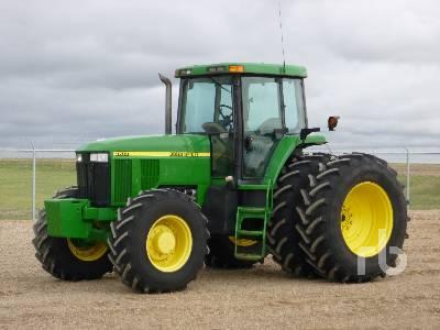 1999 JOHN DEERE 7810 MFWD Tractor