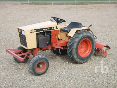 1974 CASE 446 2WD Utility Tractor