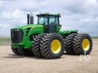2009 JOHN DEERE 9530 4WD Tractor