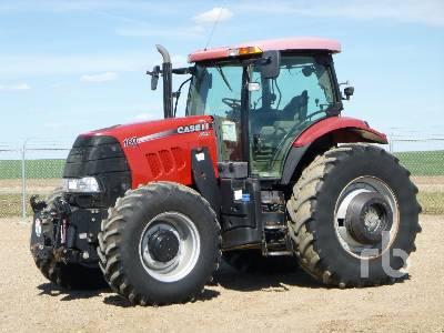 2012 CASE IH PUMA 160 MFWD Tractor