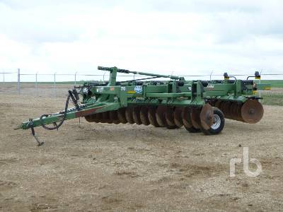 2012 WISHEK 842N 14 Ft Offset Disc
