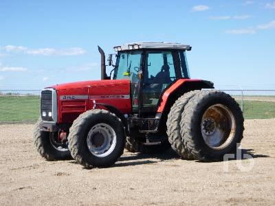 1995 MASSEY FERGUSON 8140 MFWD Tractor