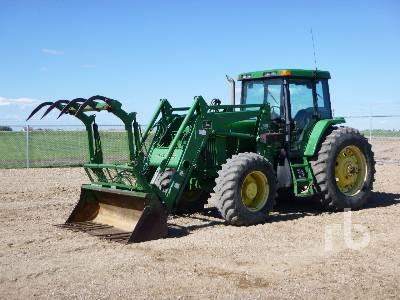 2001 JOHN DEERE 7510 MFWD Tractor
