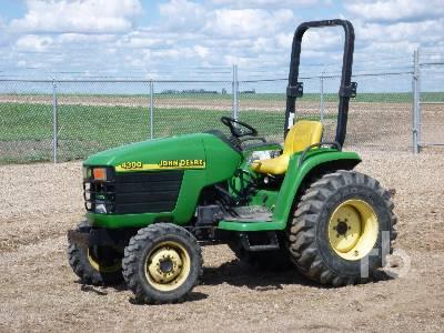 2001 JOHN DEERE 4300 Utility Tractor