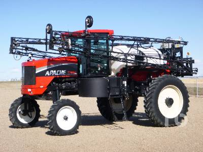 2005 APACHE AS850 90 Ft High Clearance Sprayer