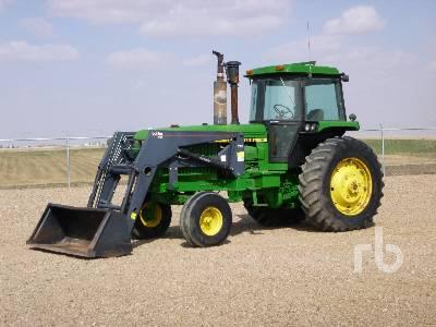 1985 JOHN DEERE 4650 2WD Tractor