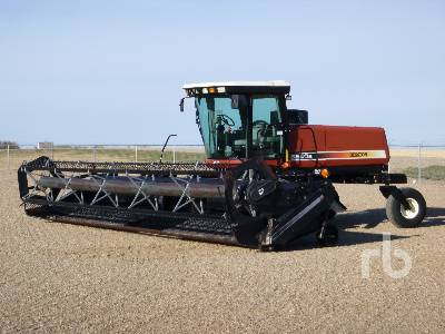 2002 HESSTON 8250S 30 Ft Swather