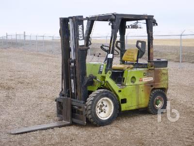 CLARK C500Y 5500 Lb Forklift