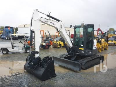 2015 BOBCAT E45 Midi Excavator (5 - 9.9 Tons)