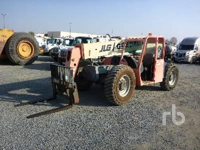 2003 JLG G6-42A 6600 Lb 4x4x4 Telescopic Forklift