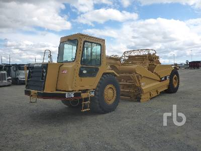 2002 CATERPILLAR 613C Series II Elevating Motor Scraper
