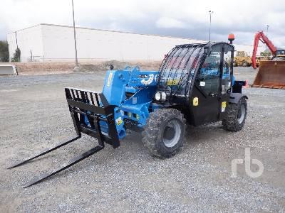 2016 GENIE GTH2506 5500 Lb 4x4x4 Telescopic Forklift