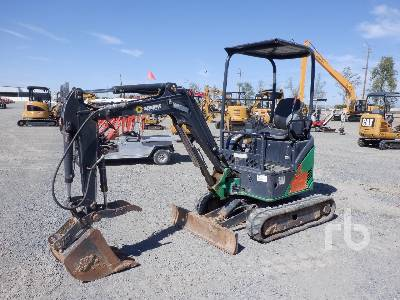 2013 JOHN DEERE 17D Mini Excavator (1 - 4.9 Tons)