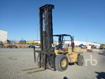 1990 CATERPILLAR R80 3500 Lb Rough Terrain Forklift