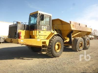 2000 CATERPILLAR D400E 6x6 Articulated Dump Truck