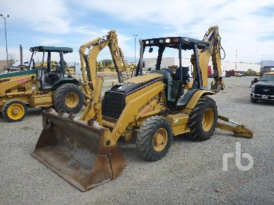 2005 CATERPILLAR 420D 4x4 Loader Backhoe