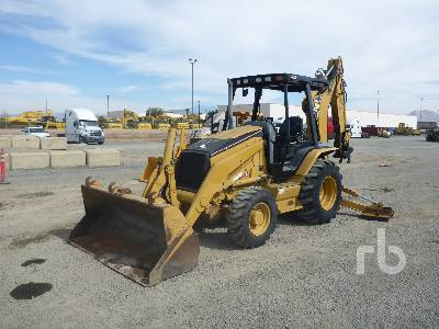 2004 CATERPILLAR 420D 4x4 Loader Backhoe