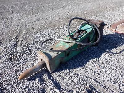 INDECO Hydraulic Loader Backhoe Hydraulic Hammer