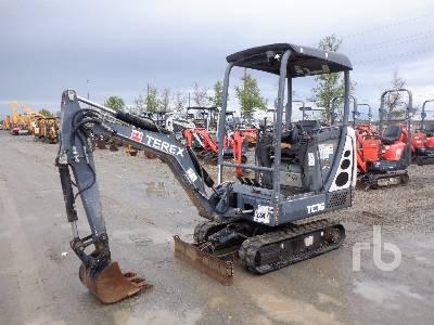 2013 TEREX TC16 Mini Excavator (1 - 4.9 Tons)