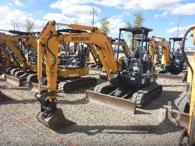 2016 HYUNDAI R35Z9 Mini Excavator (1 - 4.9 Tons)