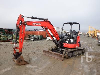 2016 KUBOTA U55-4 Mini Excavator (1 - 4.9 Tons)