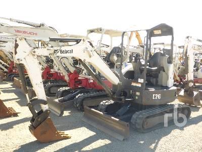 2014 BOBCAT E26GM Mini Excavator (1 - 4.9 Tons)