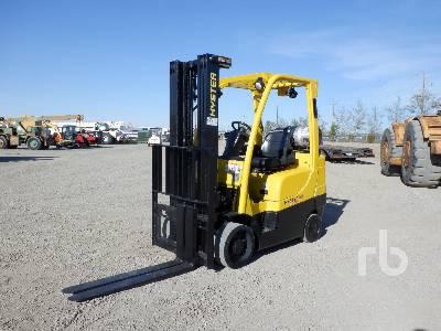 2006 HYSTER S60FT 5650 Lb Forklift