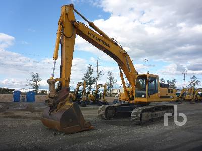 2005 HYUNDAI ROBEX450LC-7 Hydraulic Excavator